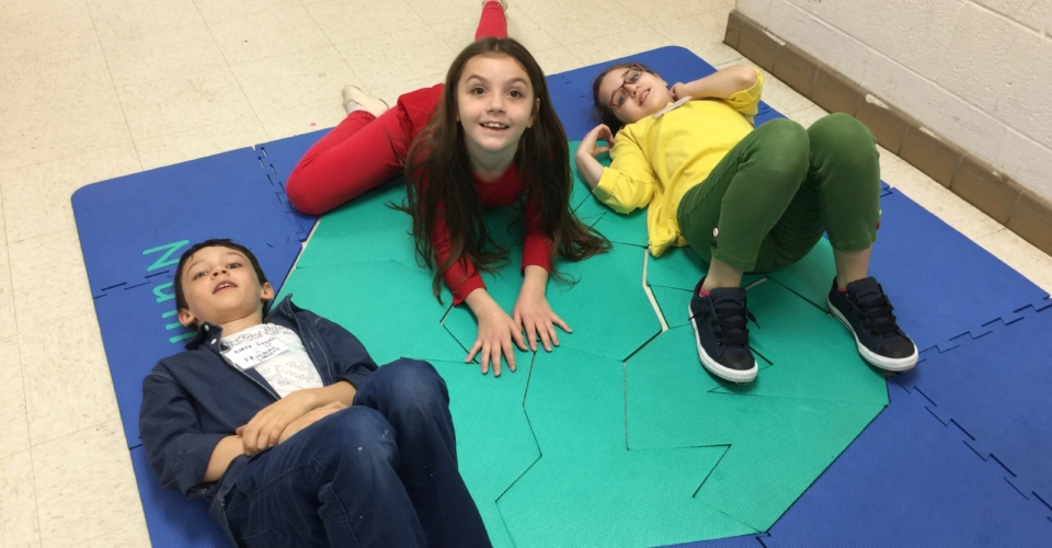 Feynman school gifted children with floor time puzzle